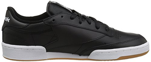 Reebok Heren Club C 85 Fashion Sneaker Int-zwart / Wit Gum