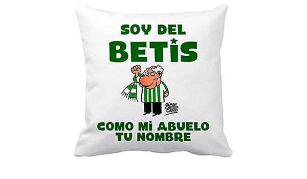 Diver Bebé Cojín con Relleno Soy del Betis como mi Abuelo ...
