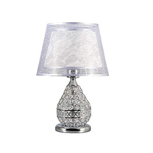Luz araña Moderno Minimalista Tela de lino Lámpara de mesa Led ...