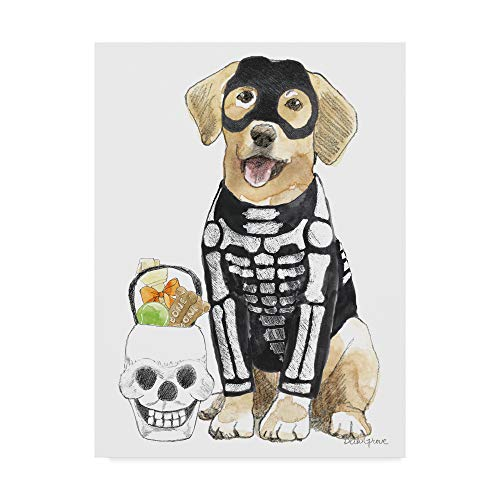 Trademark Fine Art Halloween Pets VII by Beth Grove, 14x19