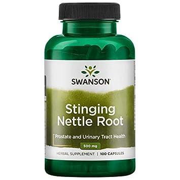 Swanson Stinging Nettle Root 500 Milligram, 100 Caps Pack of 3