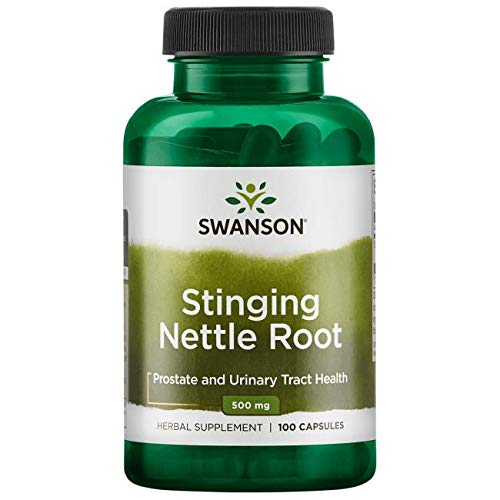 Swanson Stinging Nettle Root 500 Milligram, 100 Caps (Pack of 3)