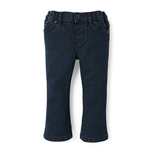 The Children's Place Baby Girls Bootcut Jeans, Bluberywsh 2208, 3T