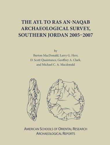 The Ayl to Ras an-Naqab Archaeological Survey, Southern Jordan 2005-2007 (ASOR Arch Reports)