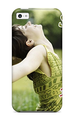 5c Case Cover For Iphone (freedom Quotes ) ()