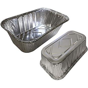 35 Pack – 1LB Sturdy Mini Loaf Pans, Aluminum Loaf Pans, Bread Pans, Foil Loaf Pan l Cake Pan, Disposable Aluminum Pans l Top bakerys choice Tin Pans - 1 ...