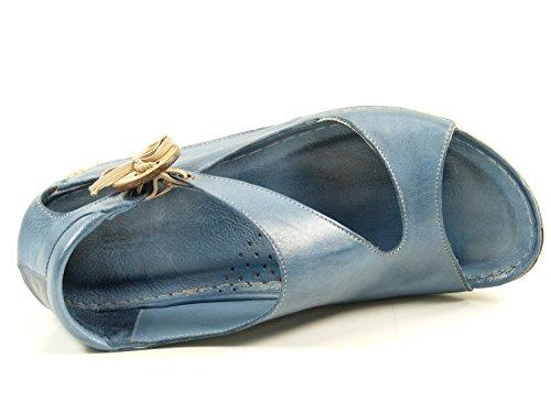 32029 Bleu 02 femme Gemini sandales mode d56HqxxXwZ