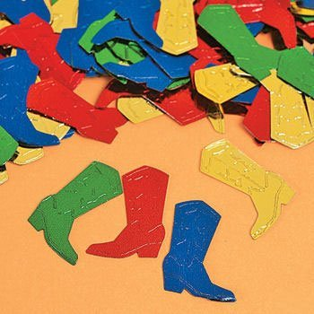Boot Confetti - Vacation Bible School & Party Supplies