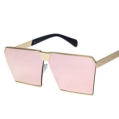 reflectante Ultra Última de de Mens moda DESESHENME conducción gafas Light polarizadas Womens sol polvo Caminante metálico bastidor axqPO