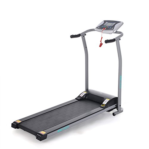 ANCHEER Electric Treadmill, S9000 Small Folding Treadmill For Home Space Saver (Sliver)
