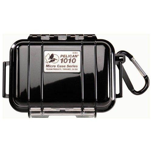 Pelican Micro Case 1010 Multi Purpose Case - Polycarbonate - Black,One Size