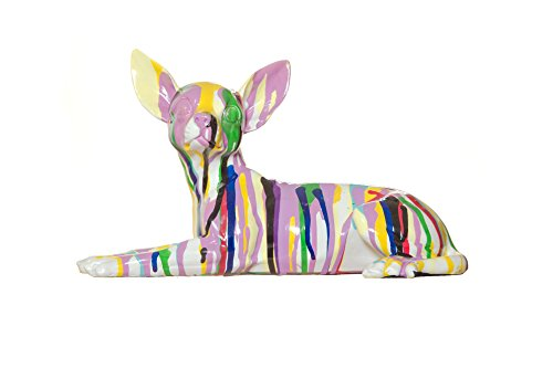 Interior Illusions Plus ii000371 Graffiti Chihuahua Home Decor, Multicolor, 11