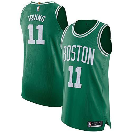5db1bc59b8d Mitchell & Ness Men's Boston Celtic s Kyrie Irving Swingman Jersey #11 -  Green