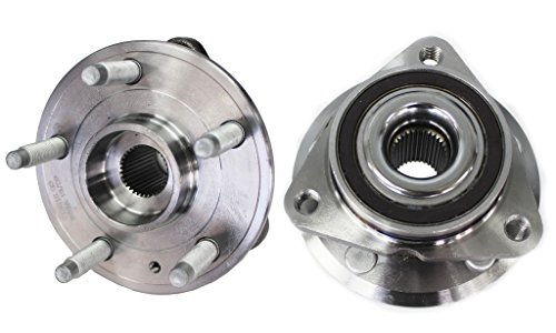 Detroit Axle - Both (2) Front Driver and Passenger Side Complete Wheel Hub and Bearing Assembly for - 15