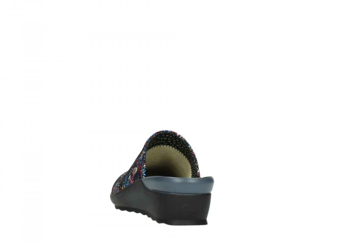 Wolky Comfort Sneakers Ewood B00WDWAM1K 38 M EU|40970 Multi-black Mtallic Leather