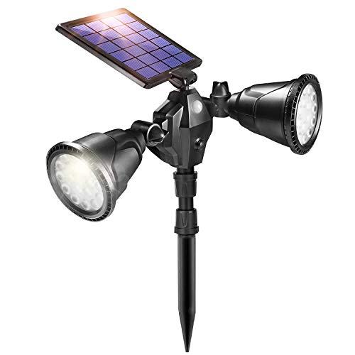Ultra Bright Double Solar Spot Lights