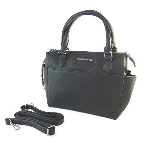 Bolsa de diseñador 'Lulu Castagnette'negro.