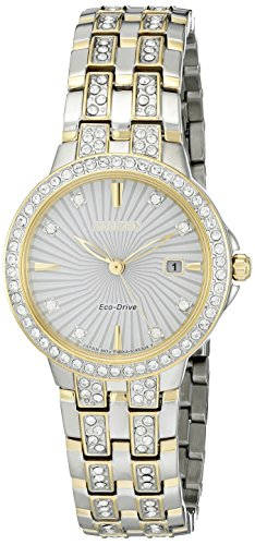 Citizen Women's 'Silhouette' Quartz Stainless Steel Casual Watch (Model: EW2344-57A)