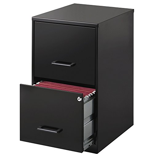 Lorell 14341 18 Deep 2-Drawer File Cabinet, (Single Drawer File Cabinet)