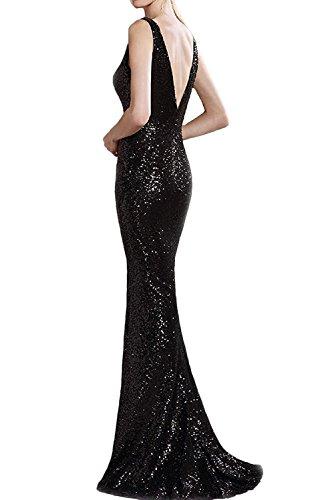 Promkleid Hochwertig Ivydressing Rosa Lang Abendkleider Partykleid Paillette Damen Ballkleid RTxx5Xqf