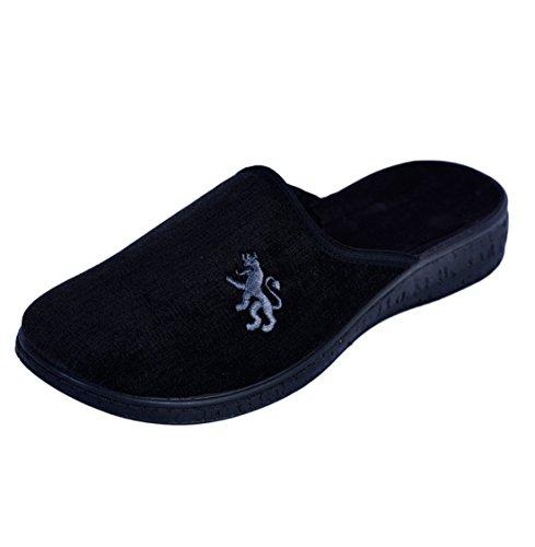 Pantofole Da Uomo Morbide Nere Gr. 45