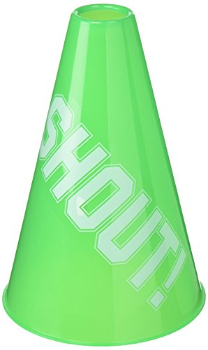 Green Megaphone, Party Accessory, 6 Ct.