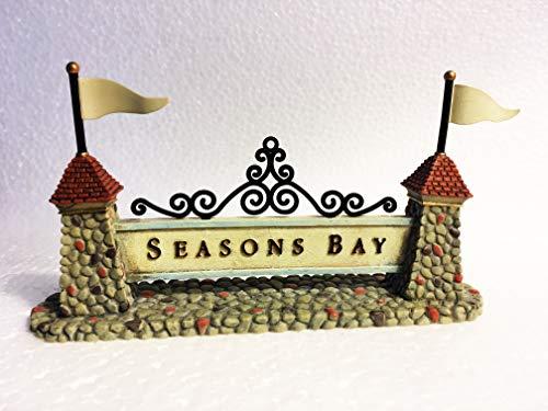 Department 56 Seasons Bay Sign