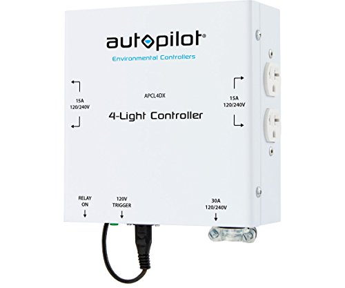 Hydrofarm MLC-4X 4-Light HID Controller, White