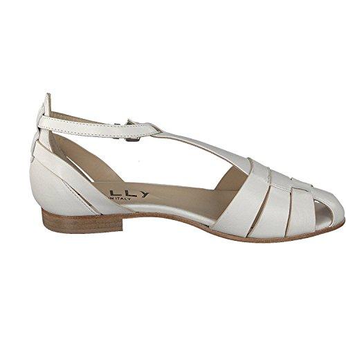 Mally - Tira de tobillo Mujer blanco