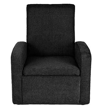 Amazon.com: STASH Comfy Folding Kids Toddler Plush Sofa Lounge Chair ...
