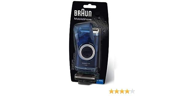 Braun bolsillo Go recargable afeitadora oscuro azul (bolsillo Go ...