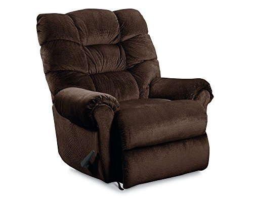 Zero Gravity Glass (Lane Furniture 11721 4014-21 Zip Glider Recliner with ZERO GRAVITY Mechanism Rolled Arms and Tufted Detailing in)
