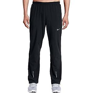 Nike Mens Stretch Woven Black Dri-Fit Training Running Pants Sweatpants (Medium)