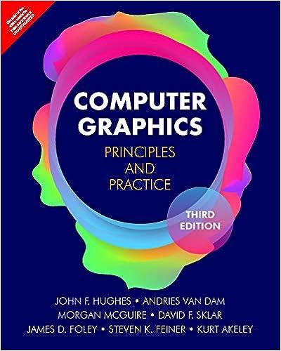 Amazon com: Computer Graphics: Principles And Practice, 3Rd