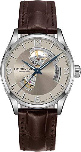 ساعت مچی مردانه همیلتون مدل H32705521 با بند چرمی