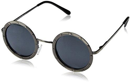 A.J. Morgan Gladiator Round Sunglasses, Antique Silver, 46 - Sunglasses Gladiator