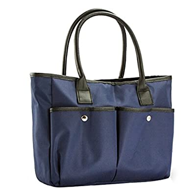 Ecokaki(TM) Nylon Water Repellent Large Capacity Shoulder Bag Fashion Shopping Handbag Tote Bag