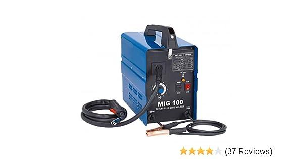 90 Amp 120v Wire Feed Portable Mig Welder Non Gas Welding Fabrication  Welding Set: Mig Welding Equipment: Amazon.com: Industrial & ScientificAmazon.com