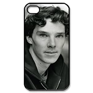 D-PAFD Customized Print Benedict Cumberbatch Pattern Back Case for iPhone 4/4S