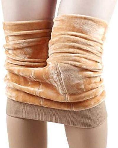Unityoung Leggings para Mujer, para Invierno, Gruesos, cálidos, de Forro Polar, Color sólido, Largo Completo, Cintura Alta, Pantalones de Control de Abdomen