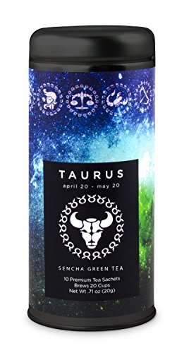 taurus-astrology-tea-sencha-green