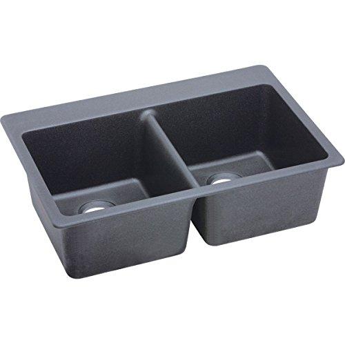 Beige Double Bowl Faucet - 4