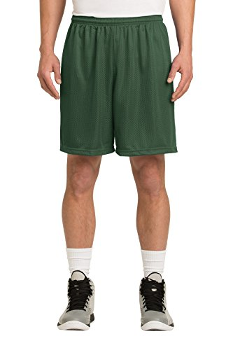 Sport-Tek Men's PosiCharge Classic Mesh Short M Forest -