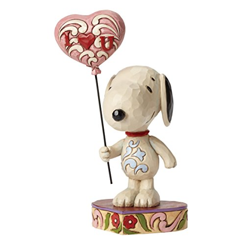 Heart Figurine (Jim Shore for Enesco Peanuts Snoopy with Heart Balloon Figurine, 7.75