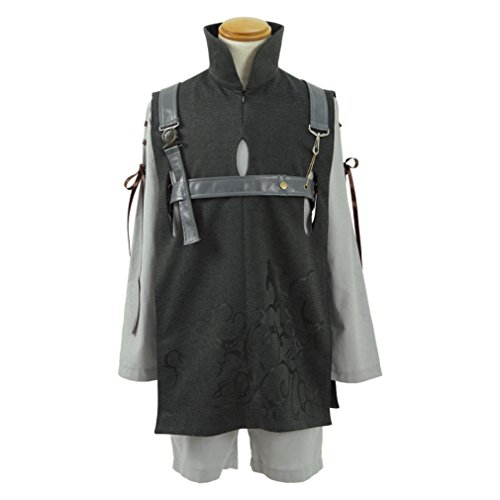 Men's Tops Shorts Vest Outfit Halloween Cosplay Costumes (X-Large) by KY Household