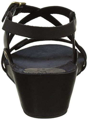 noir Taste Sandales Ouvert Kickers Noir Bout Femme RTwz68