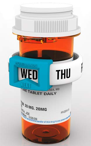 Daily Medication Reminder by Hourbands -