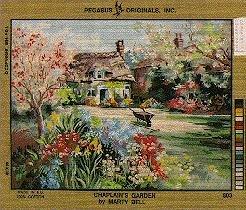 (Pegasus Originals Chaplain's Garden Needlepoint Canvas)