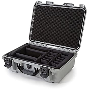 nanuk 925 waterproof hard case with padded dividers silver camera accessory. Black Bedroom Furniture Sets. Home Design Ideas