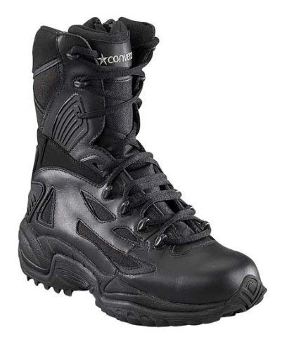 (Converse Boots: Men's 9 Inch Stealth SWAT Military Boots 8875 - Black - 7.5M)